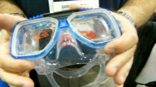 Prescription Frames for masks and swimming Goggles