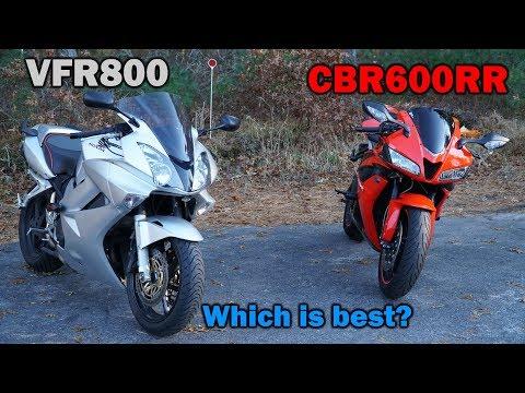 Super Sport vs Sport Touring (CBR vs VFR)