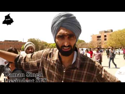 Punjab University Clash: SFS Daman Singh talking to Jago Punjab Media while facing Police crackdown
