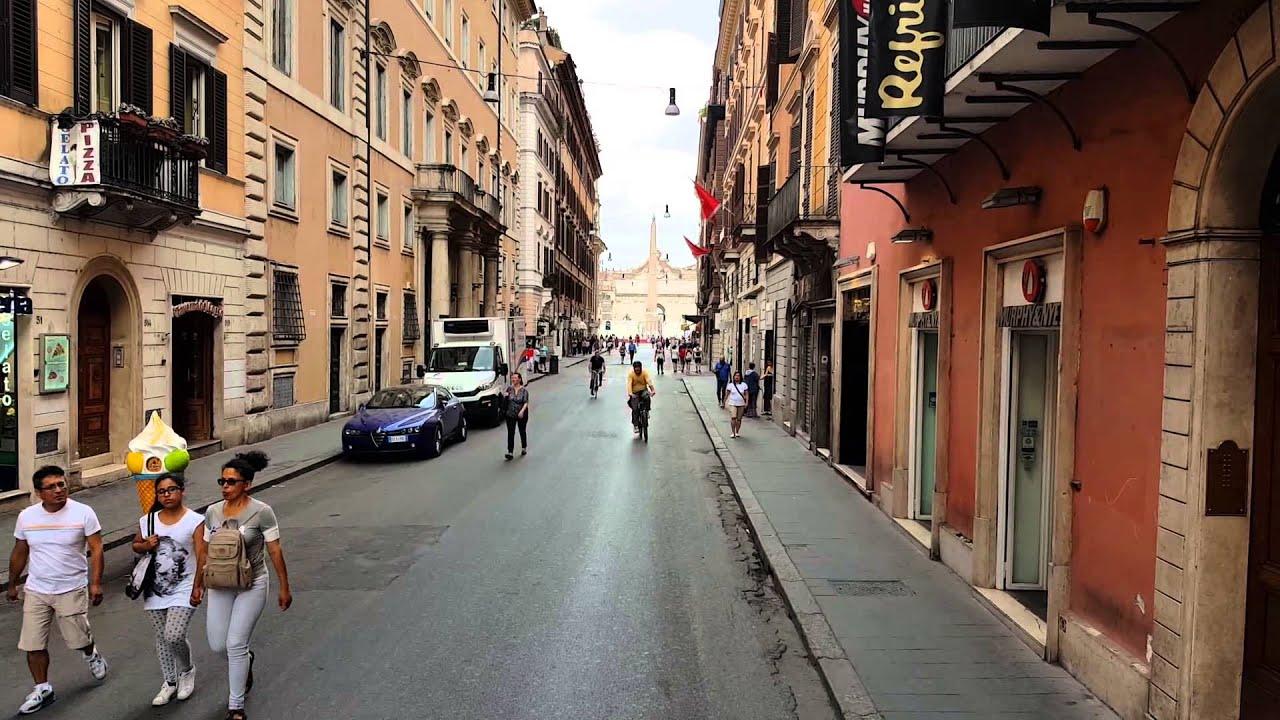 Bershka Roma Via Del Corso Of Via Del Corso Rome Italy Quadcam Drone Panorama Youtube