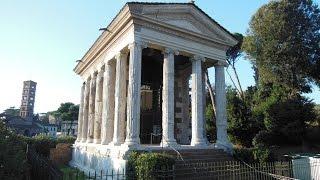 Tempio di Portunus Foro Boario Roma