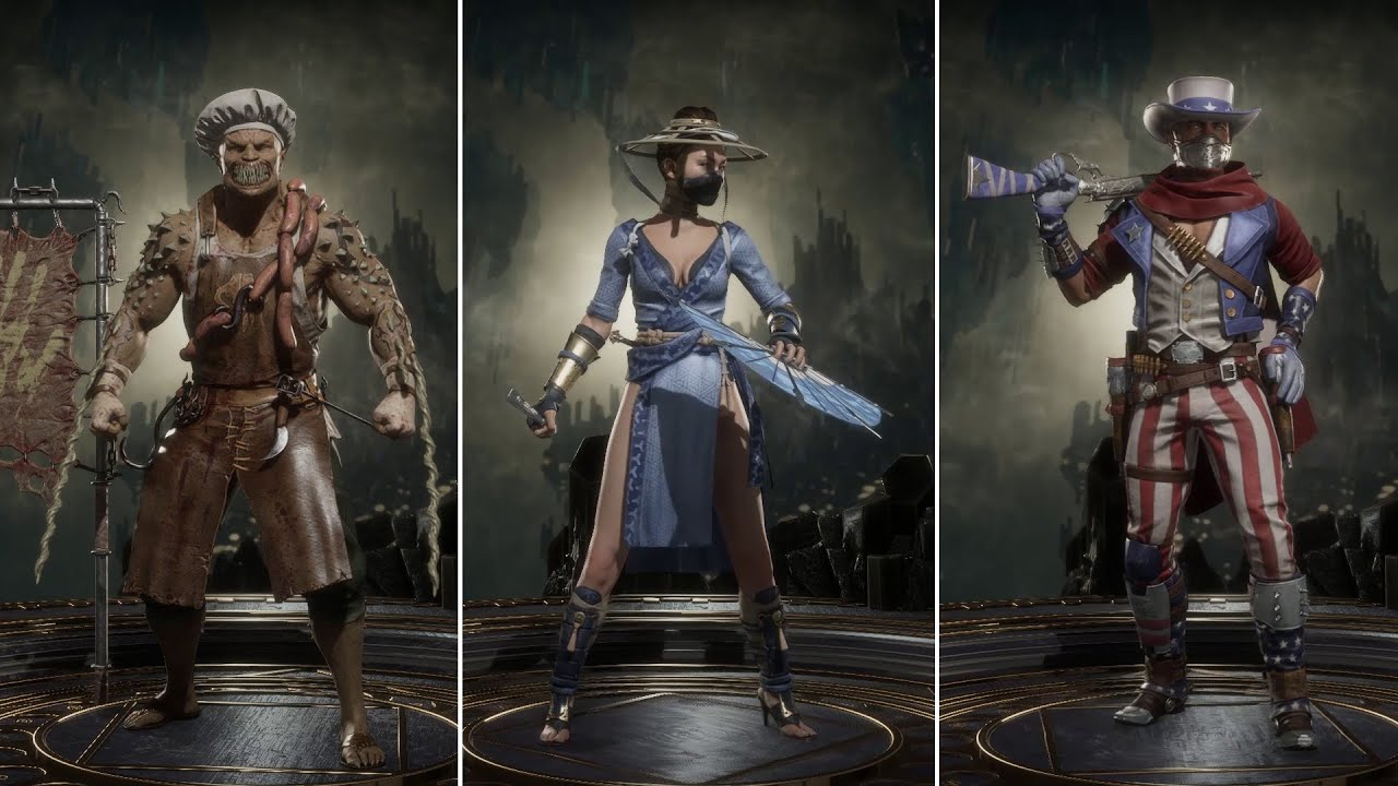 Summer Heat Skin Pack All Colours Mortal Kombat 11 Aftermath
