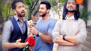 International Women's Day celebration on the sets of Ishqbaaaz