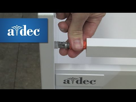 Adjust the Drawers in A-dec Inspire Dental Cabinets