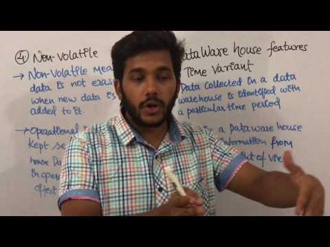 Data Warehouse & Mining 2 Data Warehouse Features |lecture| Tutorial|sanjaypathakjec
