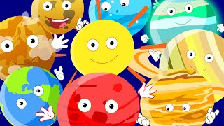 Planets Song For Children | Nursery Rhymes With Lyrics For Kids