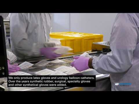 Thermoforming packaging machines from MULTIVAC pack surgical gloves