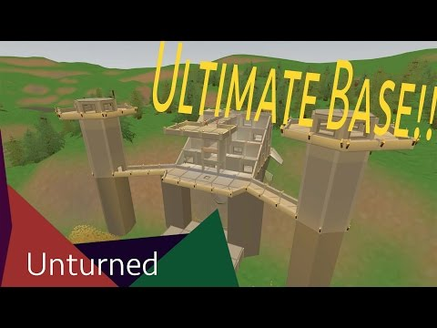 Admin Base Showcase | Unturned