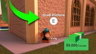 HOW TO ROB MUSEUM FROM OUTSIDE! (Roblox Jailbreak Glitch)