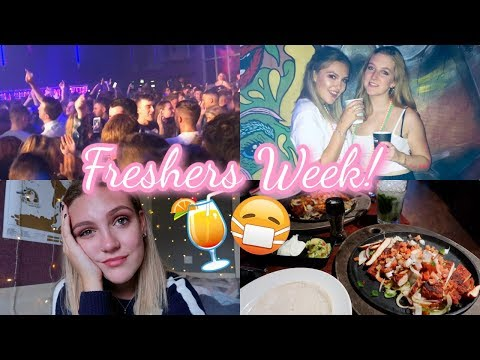 WHAT IS FRESHERS WEEK REALLY LIKE? *me being a mess* (again)