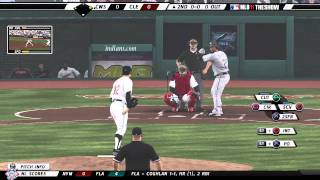 MLB 11 The Show 1995 Cleveland Indians Gameplay