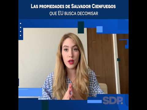 Las propiedades de Salvador Cienfuegos que EU busca decomisar #Videocolumna