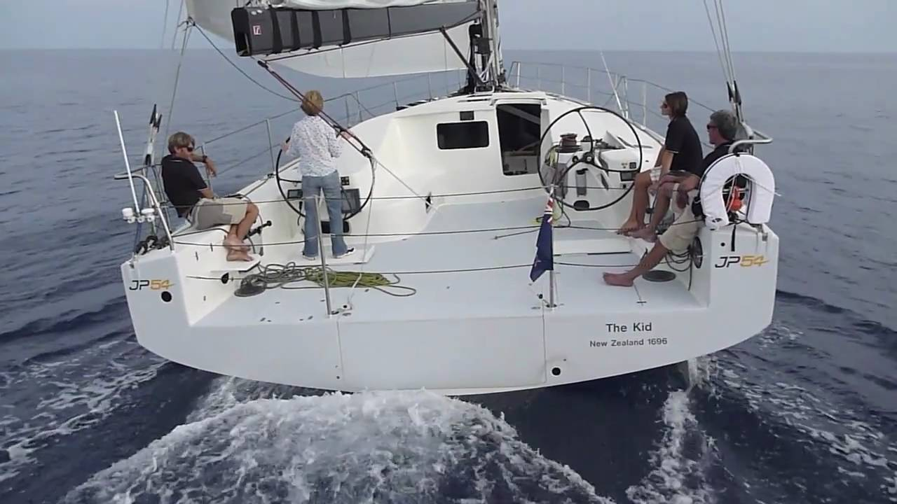 Jp54 Test Sail Yachting World Youtube