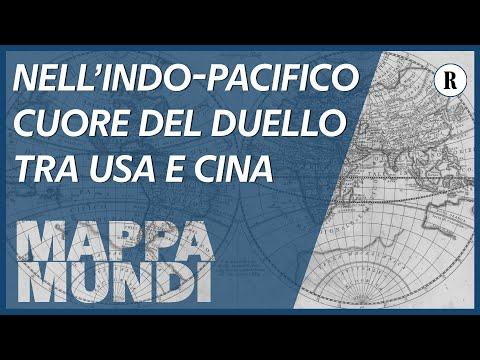 Il duello tra Usa e Cina si combatte nell'Indo-Pacifico - Mappa Mundi