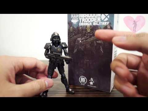 Ori Toy Acid Rain The Last Line of Defence - Abaddon Trooper