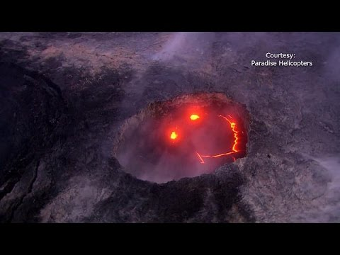 Kilauea-Vulkan auf Hawaii lässt Lava 10 Kilometer weit ins Meer fließen