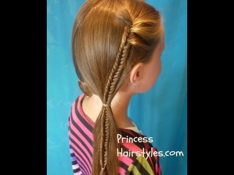 Fishtail Braid Bohemian Pigtails, Hunger Games Inspired ...