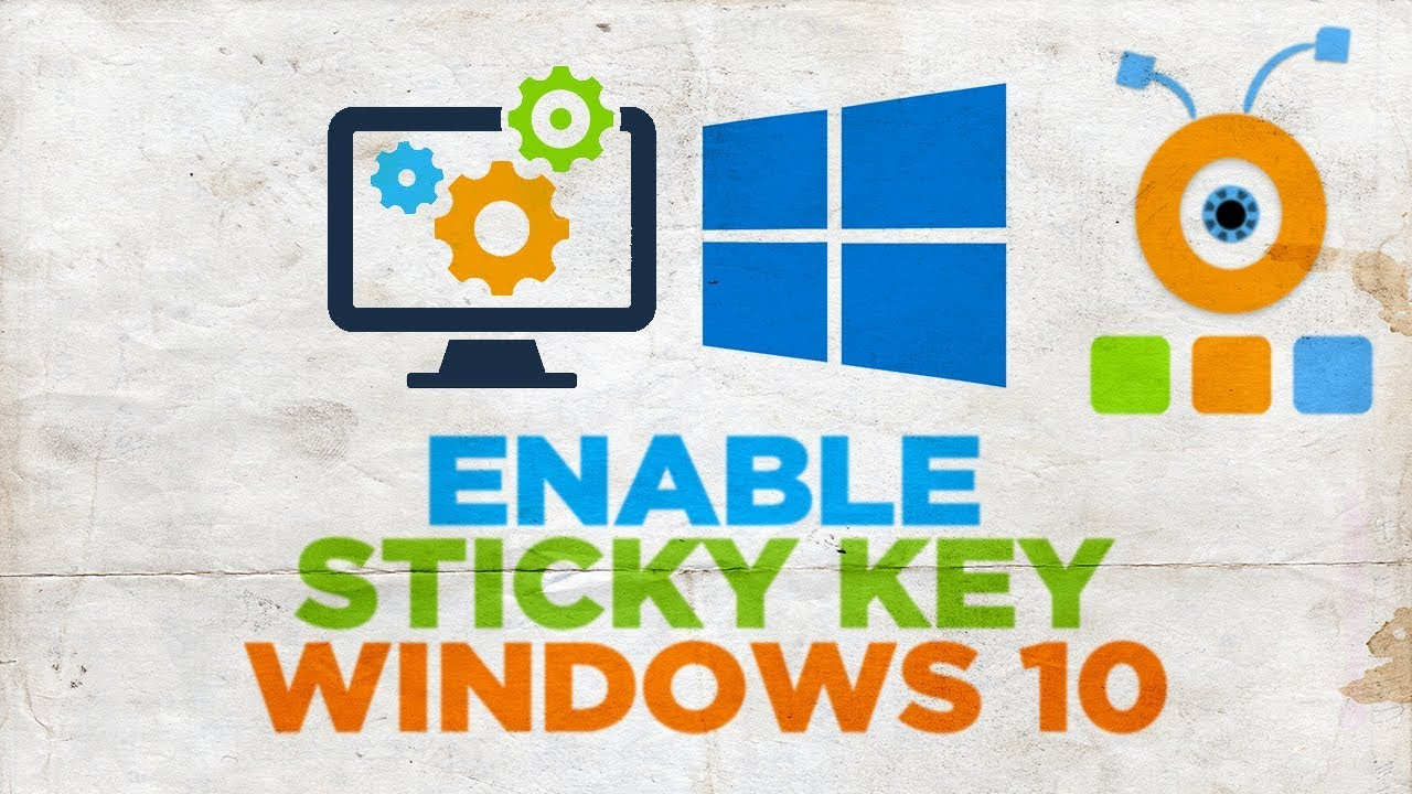 How to Enable Sticky Key in Windows 10 | How to Turn On Sticky Keys
