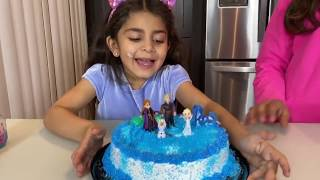 Deema Play Birthday Cake party surprise Frozen 2