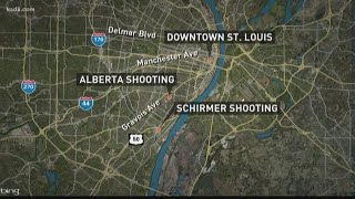Two men shot in south St. Louis Wednesday night