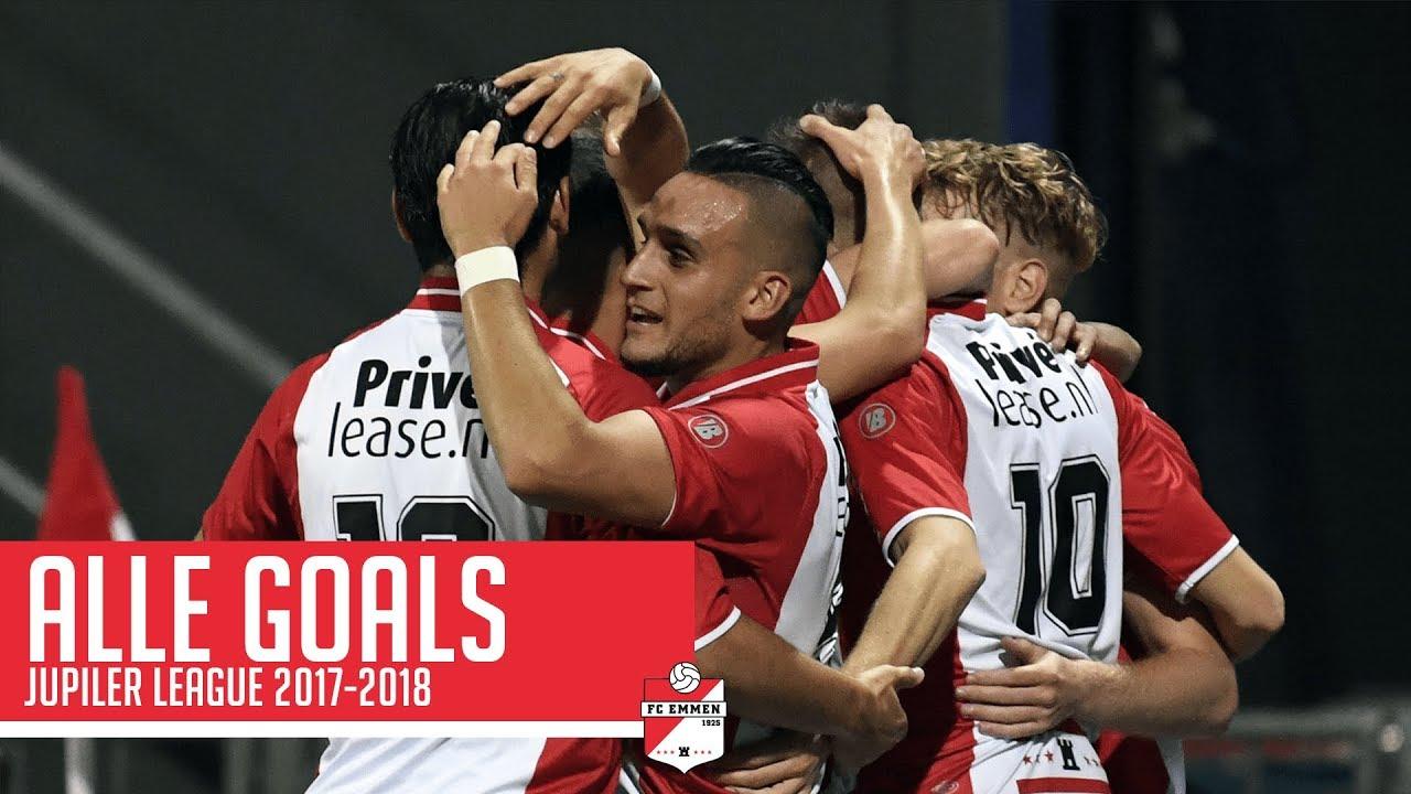 Fc Emmen Goals Seizoen 2017 2018 Jupiler League Youtube