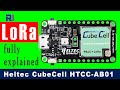 Introduction to Heltec LoRa CubeCell Development Board HTCC-AB01
