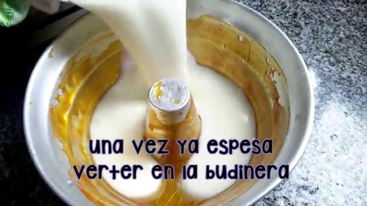 Como hacer crema casera con maizena