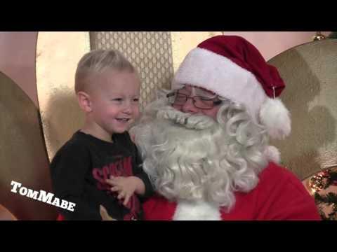Farting Santa Prank by Tom Mabe