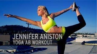 Jennifer Aniston Yoga Ab Workout