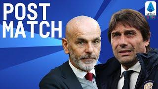 Inter 4-2 Milan | Conte & Pioli Post Match Press Conference | Serie A TIM
