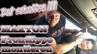 Gambar cover Golf 7 GTI Maxton Frontspoiler / Frontlippe | Wie montieren ? | So baust DU sie an!