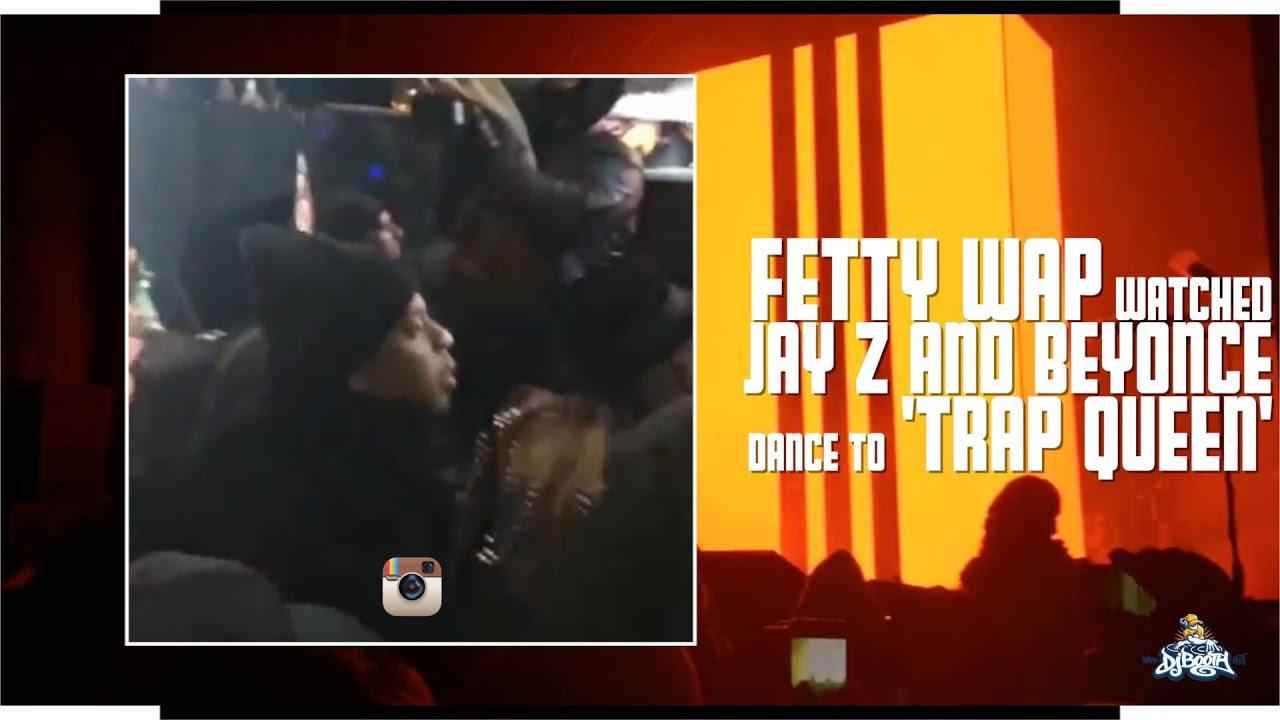 Fetty Wap Sees JAY Z & Beyonce Dance to
