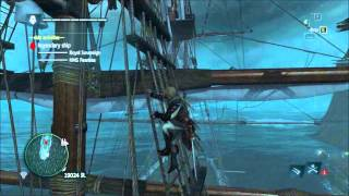 AC4 Easily Defeating Twin Legendary Ships (HMS Fearless, Royal Savereign)