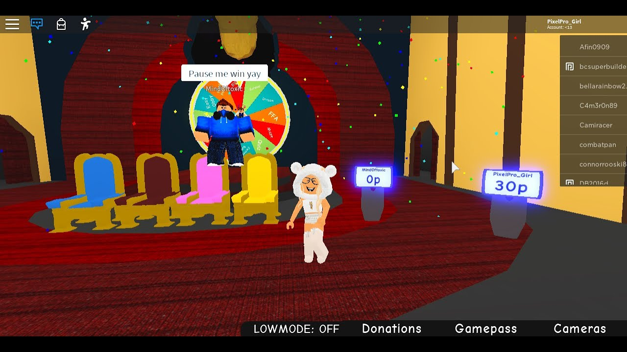 Roblox The Game Show Show