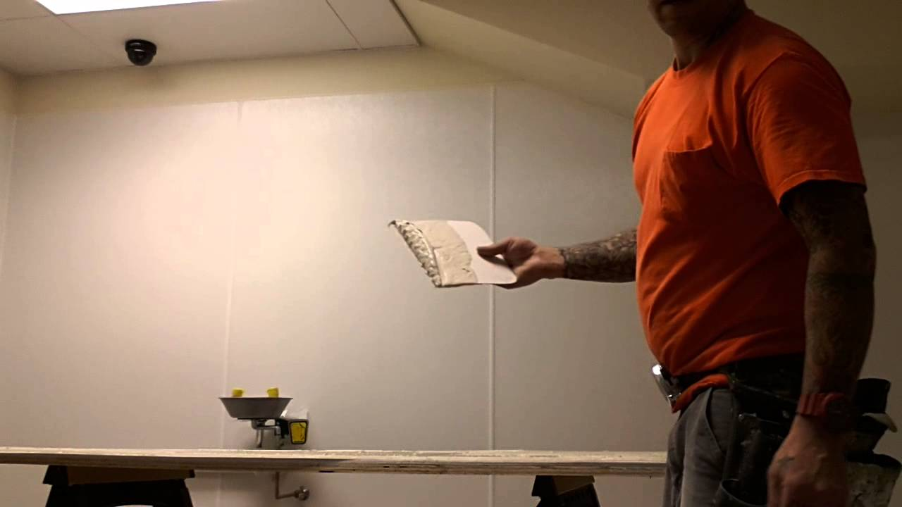 FRP Installation over concrete block wall - YouTube