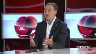 Entrevista al presidente de UPN, Javier Esparza, en el Informativo de Navarra Televisión (10/11/15)
