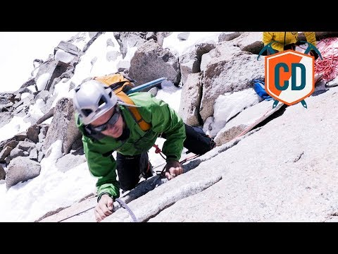 Climbing A Classic Alpine Route With The Choucas Light Harness   Climbing Daily Ep.1067