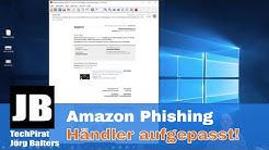 Amazon Phishing Mail auch in 2020. Amazon Händler aufgepasst! Mein Beitrag zum Safer Internet Day
