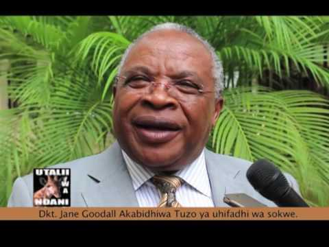 Utalii wa Ndani : Tuzo Dkt. JANE GOODALL -  22.07.2017
