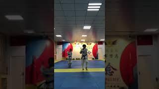 亚奥武道中国龙队示范团(2)