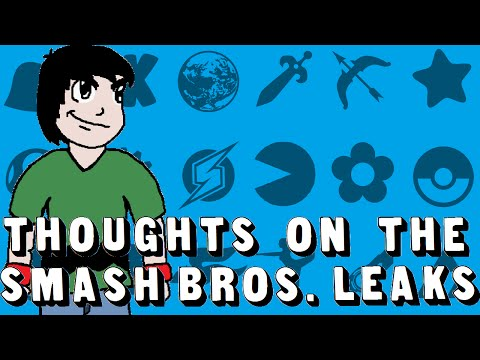The Massive Smash Bros Leaks (My General Thoughts) - NerdThomas