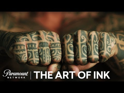 'Polynesian Tattoos' The Art of Ink (Season 2) Digital Exclusive | Paramount Network