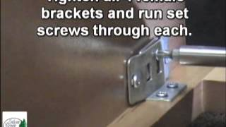 Silver Creek Cabinets Standard Base - Roller Bearing Slides Assembly Instructions