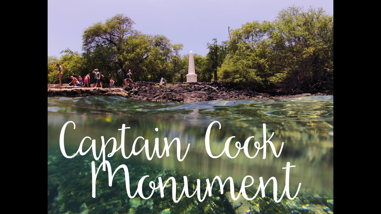 Captain Cook Monument Hike Kealakekua Bay - YouTube on