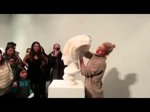 Beijing Artist Uses Paper In Unusual Way