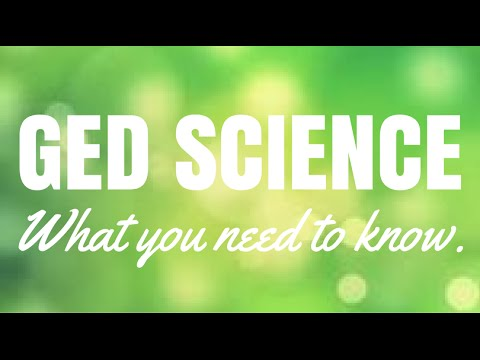 GED Science | What You Need to Know | GED Test Guide