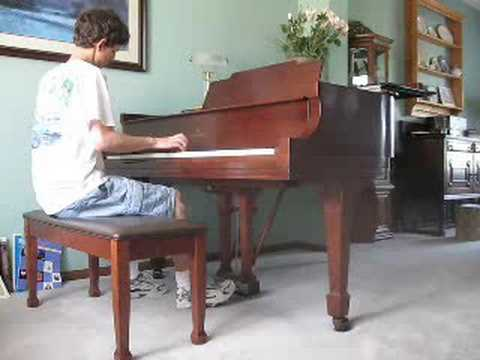 Cliffs of Dover by Eric Johnson, on piano
