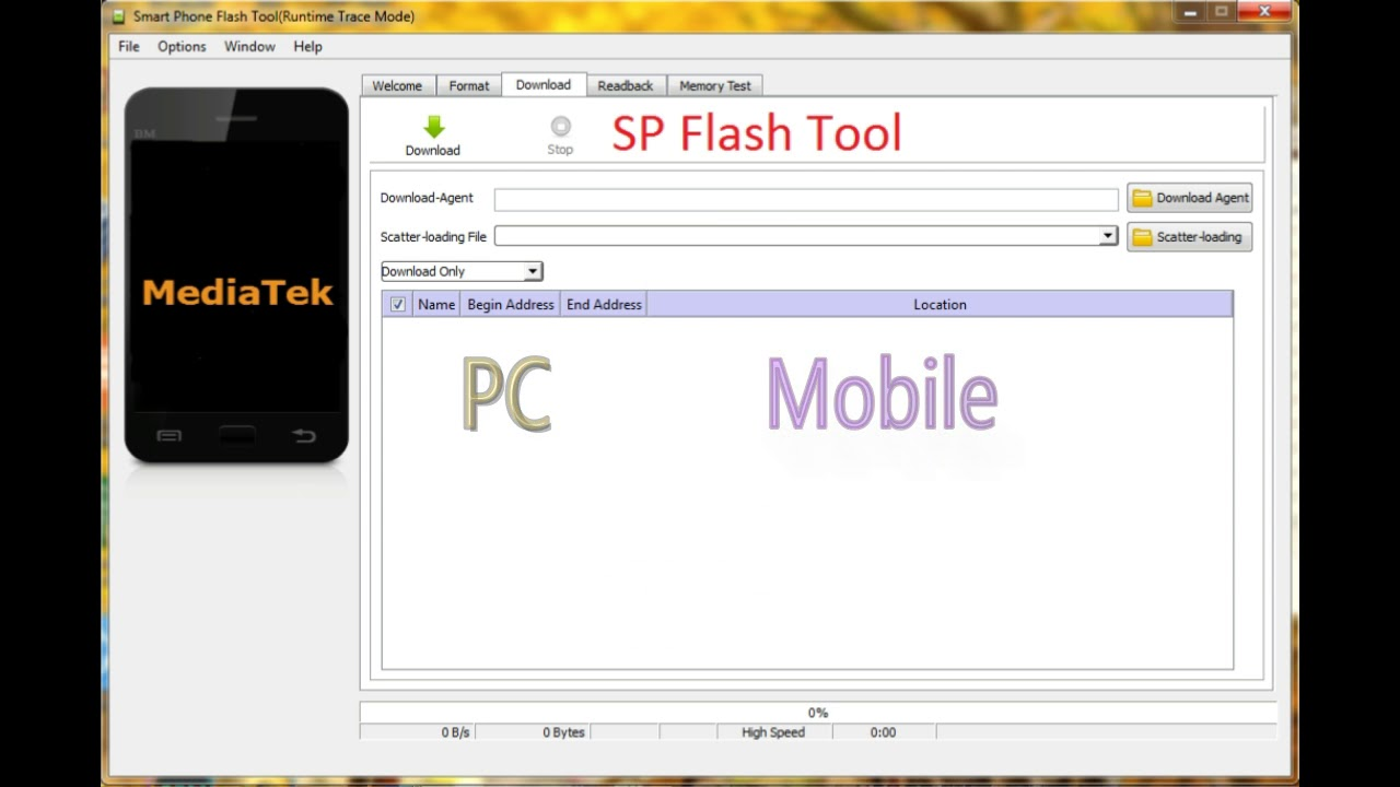 SP Flash tool StartCMD failed (2002) and S-BROM error (2022) fix for lenovo  phab 2 plus