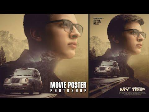 Advanced Cinematic Movie Poster Design in Photoshop