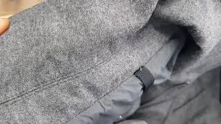 명품 몽클레어 모직 패딩 자켓 얼룩제거 세탁복원케어